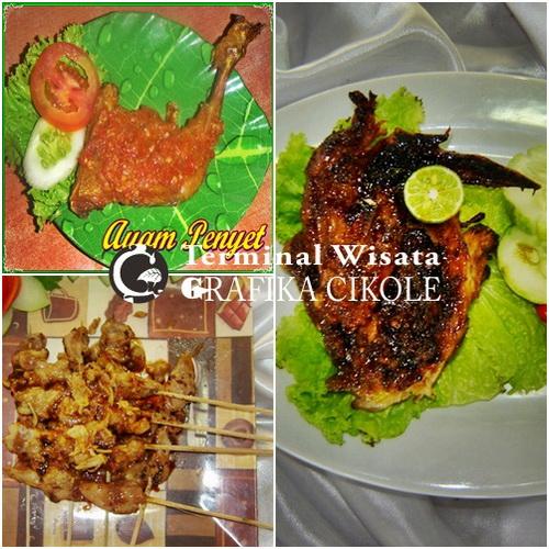 aneka hidangan ayam | Terminal Wisata Grafika Cikole